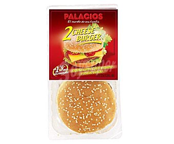 Palacios Cheese Burger 2x125g