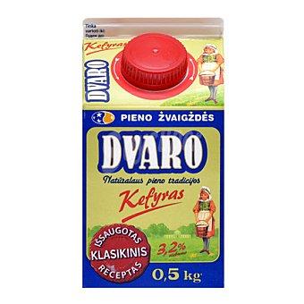 DVARO Yogur natural Kefir Brik de 500 g