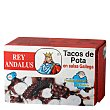 Tacos de pota en salsa gallega 72 g Rey Andalus