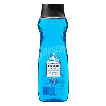 Deliplus Gel baño dermo aroma piel normal frescor azul Botella 750 ml