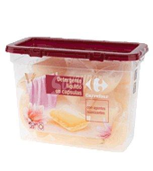 Carrefour Detergente liquido en cápsulas con agentes suavizantes 20 ud