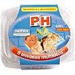 Recipiente multiusos con tapa hermetico y desechable 045 l Envase 6 unidades P & H