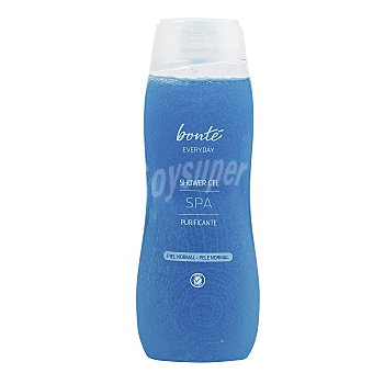 Bonté Gel de ducha spa purificante piel normal Bote 750 ml