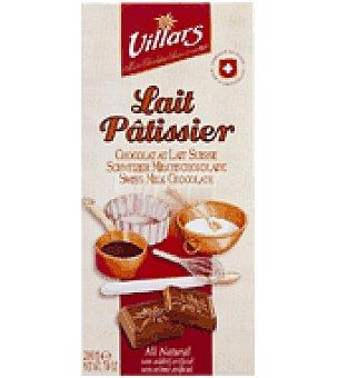 Villars Cobertura de chocolate con leche 33% cacao 200 g