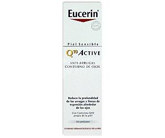 Eucerin Crema antiarrugas contorno ojos Q10 Caja 15 ml