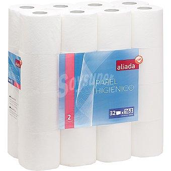 Aliada Papel higiénico blanco 2 capas Paquete 32 rollos