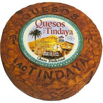 BOLAÑOS Tindaya rojo queso de cabra madurado graso peso aproximado pieza 4 kg 4 kg