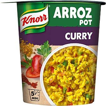 Knorr Arroz pot curry Vaso 87 gr