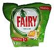 Detergente lavavajillas todo en 1 cápsulas Paquete de 25 unidades Fairy