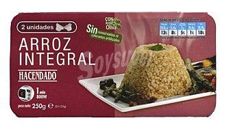 Hacendado Arroz cocido integral 2 x 125 g