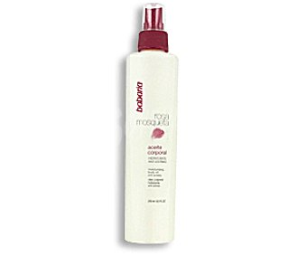 Babaria Aceite corporal con rosa mosqueta 250 mililitros