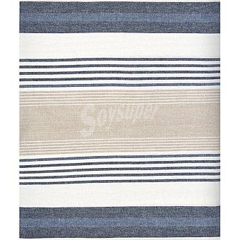 Unit Raya Cruis mantel de tela en color azul y crudo