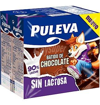 Puleva Batido choco sin lactosa 6 unidades x 200 ml