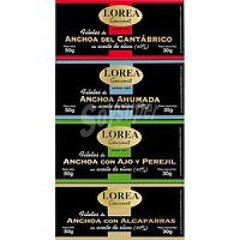 LOREA Anchoa cantábrico sabores pack 4x30 g