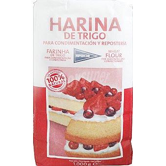 HIPERCOR harina de trigo especial repostería paquete 1 kg