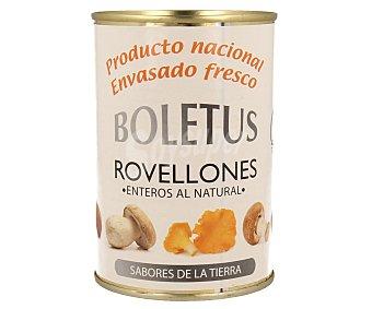 Boletus Rovellones enteros al natural 200 gramos