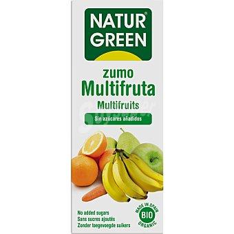 Naturgreen Bio zumo multifrutas ecologico sin azucares añadidos brik 600 ml