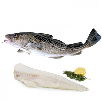 Bacalao 1 ud 1,5 Kg aprox 1500.0 g. aprox