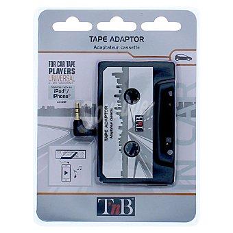 T'NB AD-300 Adaptador de autoradios con cassete para reproductores MP3