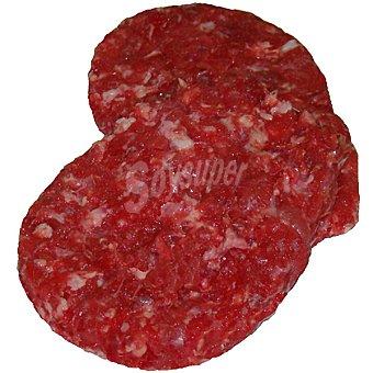 VALLES DEL ESLA hamburguesas de buey bandeja 450 g peso aproximado 4 unidades