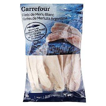 Carrefour Filete de merluza Argentina congelada 1 kg 1 kg