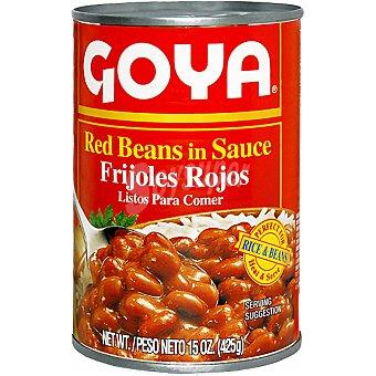 Goya frijoles rojos listos para comer lata 425 g neto escurrido
