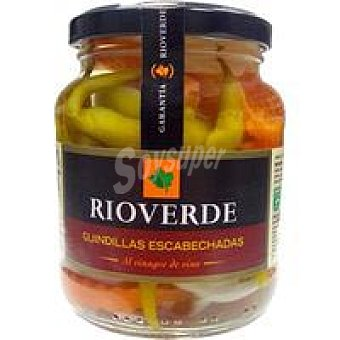 Rioverde Guindillas en escabeche Tarro 150 g