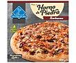 Pizza barbacoa hecha al horno de piedra 400 g LA NIÑA DEL SUR