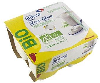 Auchan Yogur natural Bio 4x125g