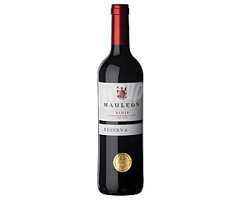 MAULEÓN Vino tinto de reserva con denominación de origen Rioja alavesa Botella de 75 cl