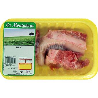 LA MONTAÑERA Rabo de cerdo peso aproximado Bandeja 400 g