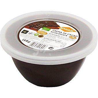 SINGLU Crema de cacao ecológica sin gluten sin huevo sin lactosa Envase 150 g