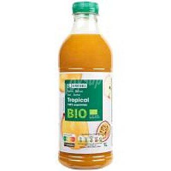 Eroski Zumo exprimido tropical bio Botella 1 litro