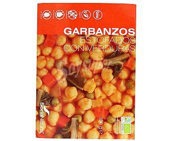 SORIA NATURAL Garbanzos estofados con verduras, ecológicos 300 gramos