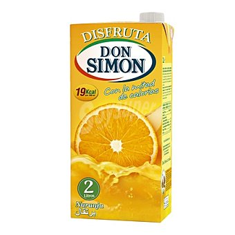 Don Simón Néctar de naranja Disfruta Brik 2 l