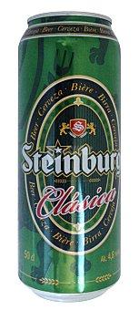 Steinburg Cerveza rubia Lata 50 cl