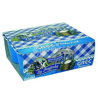 La Fageda Yogur griego natural Pack 4x125 g