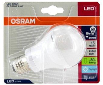 OSRAM Bombilla led estándar E27 10W, luz cálida 1 Unidad