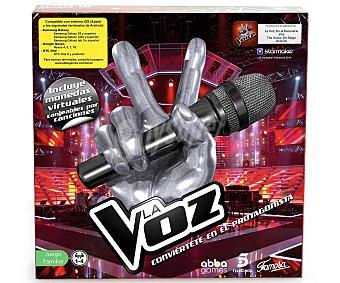 FAMOSA Juego de Mesa Musical La Voz, de 1 a 4 Jugadores 1 Unidad