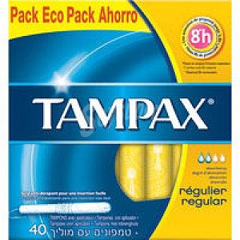 Tampax Tampones Cef Regular 40 Unidades +3 Regalo