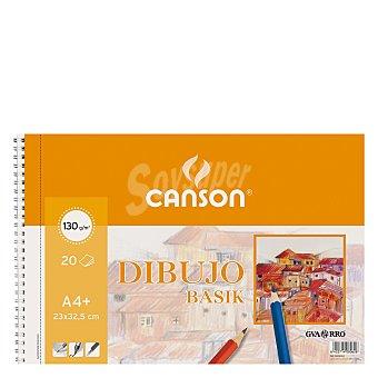 Canson Cuaderno Dibujo Basik A4+ Micro Liso 20 ud