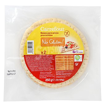 Carrefour-No gluten Base de pizza 250 g