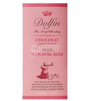 Dolfin Chocolate negro a la pimienta rosa 70 g