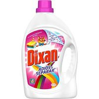 Dixan Detergente Gel Adiós Separar 40