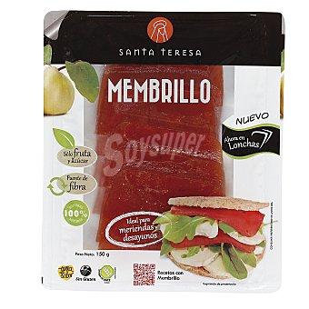 SANTA TERESA carne de membrillo en lonchas envase 150 g