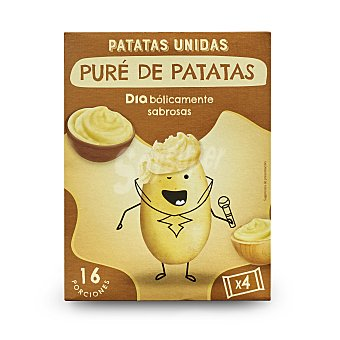 DIA Puré de patatas patatas unidas Caja 500 gr