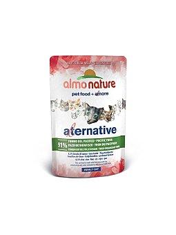 Almo Nature Alternative alimento húmedo para gatos con salmón Envase 55 g