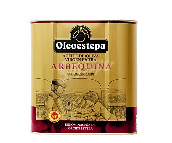 Oleoestepa Aceite de oliva virgen extra procedente de olivos abequinos 2,5 l
