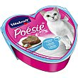 POESIE comida húmeda para gatos adultos gelatina de salmón y espinacas lata 85 g lata 85 g Vitakraft