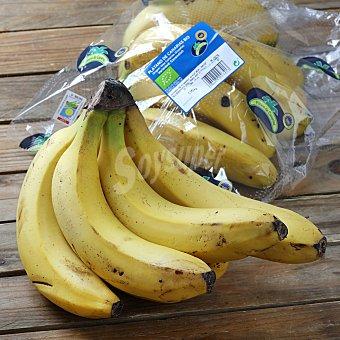 Carrefour Bio Plátano de Canarias ecológicio Carrefour Bio flowpack 1 kg aprox